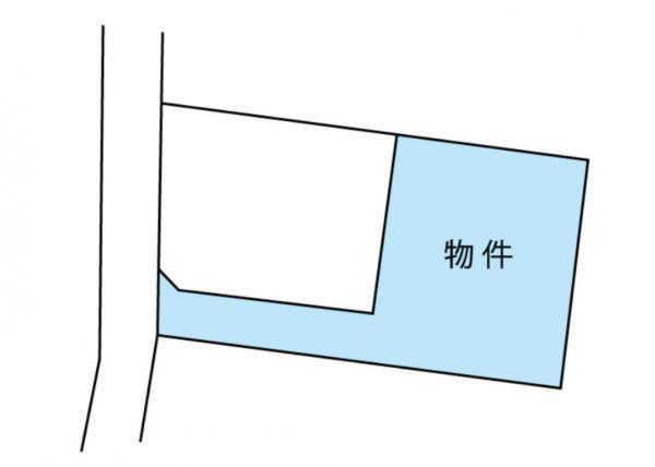 物件No. 〈売土地〉桔梗28600 塩尻市大字広丘高出〈区画②〉