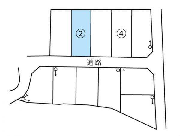 物件No. 〈売土地〉鎌田20936〈区画2〉 松本市笹部2丁目