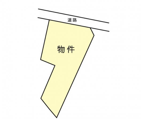 物件No. 〈売土地〉山辺25000 松本市大字里山辺