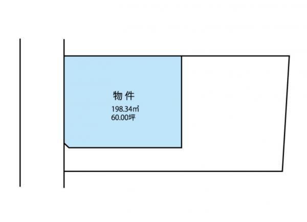 物件No. 〈売土地〉桔梗19834 塩尻市大字大門(西区画)