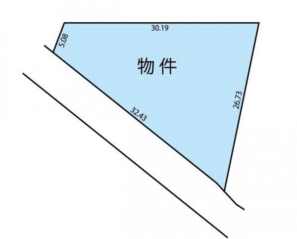 物件No. 〈売土地〉三郷47380 安曇野市三郷温